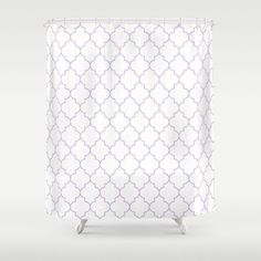 Shower Curtain  Lavender Shower Curtain  by BellaBellaShoppe