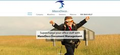 MaxxDocs will Supercharge your business!!! Document Management for Small Businesses.