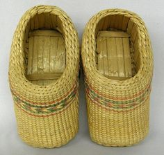 South American Basket Weave Child's Shoes