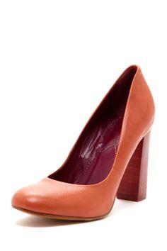 M Missoni Chunky Heel Pump @Pascale Lemay De Groof