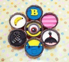 Cupcakes Minions!  curta nossa página no Facebook: www.facebook.com/sonhodocerj