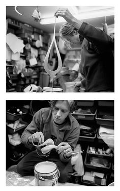 Philip Treacy, Millinery Artist, studio Images from Philip Treacy by Kevin Davies, ( Author and Photographer) Phaidon (Publisher) 2013
