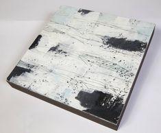 Abstract Landscape, Landscape Paintings, Abstract Art, Sea Texture, Wax Art, Encaustic Painting, Ciel, Les Oeuvres, Original Artwork