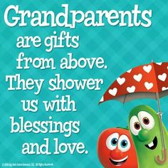 Grandparents are Gifts from Above