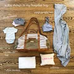 A few things in my hospital bag + recommendations from other moms – The Small Things Blog