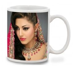 Send This Your Own Personalized Picture & Message Printed On The Mug Through Shop2Nellore.com.