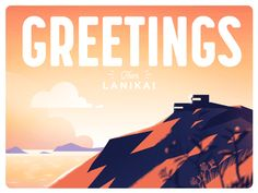 Lanikai Sunrise by Down the Street Designs