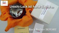 "JAPAN Urushi lackiert traditionelles Handwerk | Rock-Becher HONSHU ""Kint..."