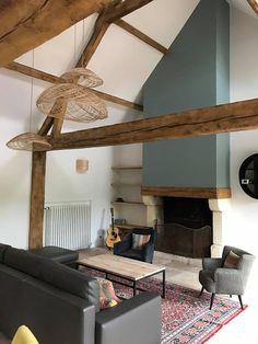 Maison normande  à Deauville aménagée par Blackstone et AGV architectes.