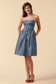 Bridesmaid dress with pockets {dresses with pockets pinfest!}