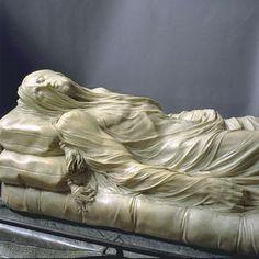Cristo Velato, Giuseppe Sanmartino, 1753, Cappella Sansevero di Napoli  . Giuseppe Sanmartino, Baroque Sculpture, Italian Sculptors, Sculptures, Lion Sculpture, Cemetery Art, Italian Art, Sacred Art, Stone Carving