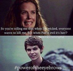 My friend got me thinking peter pan is hot. It's the eyebrows.