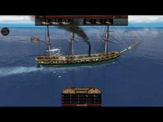 Iron Clads II: American Civil War #StrategyGame #Steam | Create your fleet and army, hunt the enemy's fleet, hide your weak squadrons in protected ports until reinforcements arrive, blockade enemy trade routes, amphibious assaults and harbour sieges, struggle for dominance over the seas in turned-based strategic mode. #WildTangent Strategy Games, American Civil War, News Games, Seas, Marina Bay Sands, Medieval, Army, Create, America Civil War