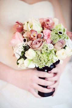 #Bouquet |  Photography: Vasia Weddings |  Floral Design: The Flower Factory |  See More On #SMP Weddings: http://www.stylemepretty.com/canada-weddings/british-columbia/vancouver/2012/12/24/anna-karenina-inspired-shoot-from-le-soirees-weddings-events/