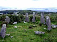 Ardgroom Stone Circle County Cork Ireland, Ancient Symbols, Stone Art, Wonderful Places, Garden Sculpture, Places To Visit, Landscape, Nature, Spirals
