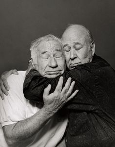 Mel Brooks & Carl Reiner  2 of a kind...very very funny