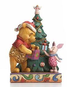 DISNEY TRADITIONS WINNIE THE POOH CHRISTMAS JIM SHORE Jim Shore Christmas, Christmas Home, Christmas Gifts, Christmas Ornaments, Christmas Ideas, Winnie The Pooh Christmas, Winnie The Pooh Friends, Pooh Bear, Tigger