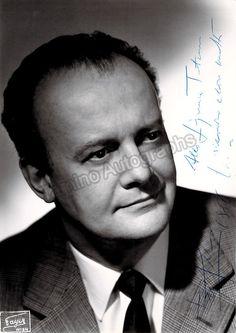 Gobbi, Tito - Signed Photo