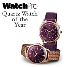We're very excited to announce that we were crowned Quartz Watch of the Year! Read the full story by clicking the link in our bio. Thank you #WatchPro we couldn't be happier! #watchesofinstagram #HenryLondon #watchoftheyear #instawatches #quartz #mechanism #movement #chronograph #purple #wine #color #vintage #style by henrywatches - Coming soon to Grace & Co