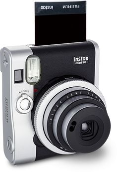 I have to get my hands on one these FUJIFILM instax mini 90 cameras NOW!