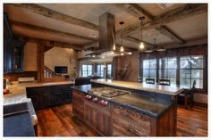 My favorite kitchen all around! Now that's what I'm talking about! by Timber and Stone in Fredericksburg, TX