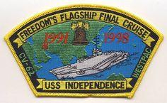 USS Independence (CVA/CV-62) Final Cruise 1998