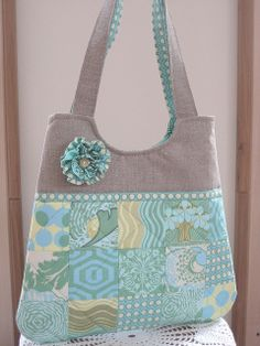 Simplicity Essential Patchwork Bag in Fresh Poppies | Flickr - Photo Sharing!