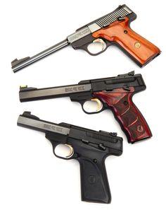 Real Guns - Browning's Buck Mark Plus Rosewood UDX