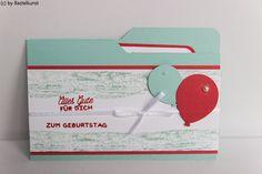 Blog: www.bastelkunst.blogspot.de  FB: Bastelkunst File Folder Card , Designer Grußelemente, Timeless Textures, Partyballons