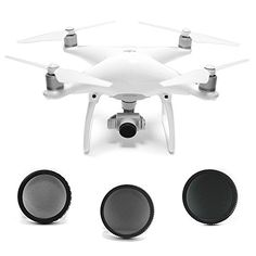 #electronics #food Capture clear and epic aerial footage with the #SANDMARC Aerial Filter Pack. Compatible with DJI Phantom 4 and DJI Phantom 3 Professional / Ad...