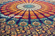 COR's Multi-colored Mandala Tapestry Indian Wall Hanging, Bedsheet, Coverlet Picnic Beach Sheet , Superior Quality Hippie Wall Tapestry or Bedspread in Organic Cotton Tree of Life 95 x 85 Inches Colors Of Rajasthan http://www.amazon.com/dp/B00RJ8XBUM/ref=cm_sw_r_pi_dp_Vep6ub05JPYE1