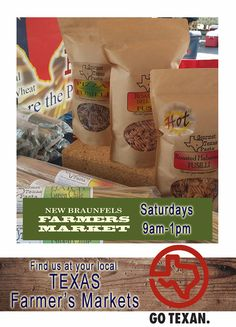 25cb48edd You can find and buy Gourmet Texas Pasta at your local New Braunfels  Farmer's Market,