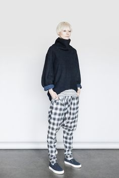 14 Fall Style Tricks That Are Pure Genius #refinery29  http://www.refinery29.com/need-supply-fall-2014#slide16  Frumpy turtlenecks are a big fashion no-no. Structured, geometric styles, on the other hand, are far from it.