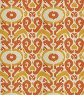 Home Decor Print Fabric- Eaton Square Colonial Tangerine