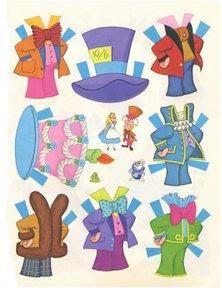 Bonecas de Papel: Alice