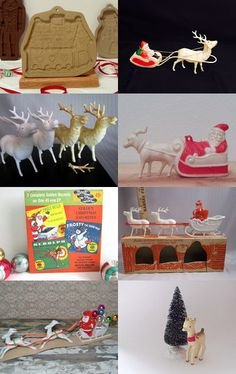 Up on the rooftop reindeer pause... by Lindy Loo on Etsy-- #epsteam #rdt Pinned with TreasuryPin.com