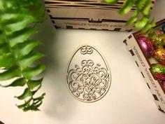 Veľkonočné vajíčka z preglejky Personalized Items, Design