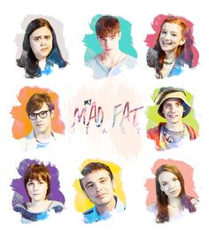my mad fat diary Series Movies, Movies And Tv Shows, Tv Series, Nico Mirallegro, Tv Show Music, Crazy Fans, Happy Black, Watch Cartoons, Rhyme And Reason