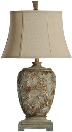 Shop our full selection of lamps, including this Vine Table Lamp, at Kohl's. Vintage Lampshades, Chandelier Floor Lamp, Lamp Light, Light Table, Tuscan Design, Dream Home Design, Bedroom Lamps, Modern Lighting, Farmhouse Decor