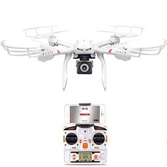 GoolRC X101 WIFI FPV Drone with Camera Live Video HD 720P,One Key Return, Headless Mode, 3D Flips, WIFI Quadcopter Compatible with 3D VR Headset http://www.safetygearhq.com/product/trending-products/drones/goolrc-x101-wifi-fpv-drone-with-camera-live-video-hd-720pone-key-return-headless-mode-3d-flips-wifi-quadcopter-compatible-with-3d-vr-headset/ Check more at...