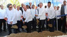 Danilo Medina da primer palazo para inicio trabajos saneamiento costa Puerto Plata