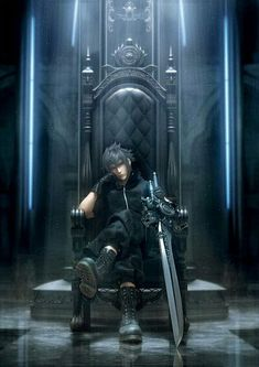 Noctis Lucis Caelum - Final Fantasy Versus XIII which is now called Final Fantasy XV Final Fantasy Series, Final Fantasy Xv Wallpapers, Noctis Final Fantasy, Arte Final Fantasy, Final Fantasy Collection, Final Fantasy Artwork, Final Fantasy Characters, Sasuke Uchiha, Naruto
