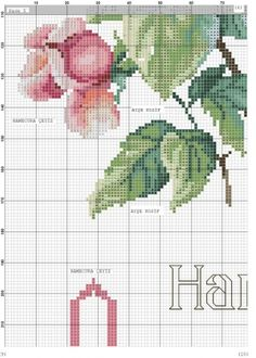 quilting like crazy Cross Stitch Boarders, Cross Stitch Rose, Cross Stitch Flowers, Cross Stitch Charts, Cross Stitching, Cross Stitch Patterns, Baby Knitting Patterns, Embroidery Patterns, Rico Design