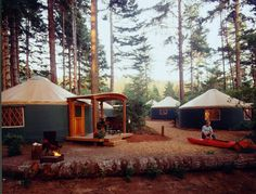 """Did you know in 1993 Oregon became the first state in the U.S. to include yurts as a camping option? I think it's a fair statement to say Oregon put yurts on the map. According to Nation's Business, yurts are """"the biggest money maker to hit Oregon State Parks since campgrounds were introduced."""" Whe"""