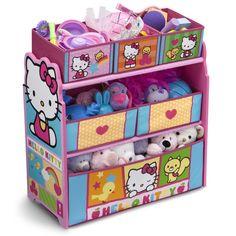 Delta Children Hello Kitty Multi Bin Toy Organizer TB84953HK,    #Delta_Children_TB84953HK