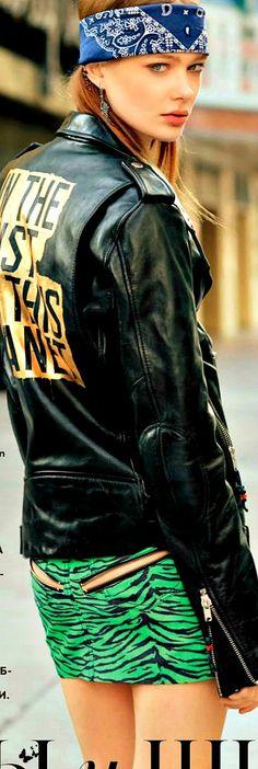 ♛ GLAM ROCK FASHION☆☆   .....street style......