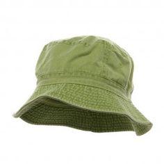 Pigment Dyed Bucket Hat-Apple Green Mens Bucket Hats e661aca52fc3