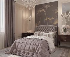 60 modern and simple bedroom design ideas 64 ~ Home Design Ideas Luxury Bedroom Design, Luxury Rooms, Master Bedroom Design, Luxurious Bedrooms, Home Bedroom, Bedroom Decor, Interior Design, Bedroom Ideas, Bedroom Lighting