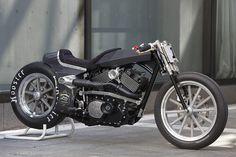 Zonnevlek Harley-Davidson Street 750 - Cafe Racers, custom motorcycles, motorcycle gear and lifestyle news.