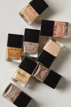 Butter London High Tea collection  - I've been meaning to buy LONDON's Butter nail polish